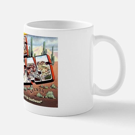 Las Vegas Nevada Greetings Mug