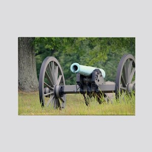 Cannon at Gettysburg Rectangle Magnet