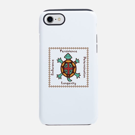 Turtle animal spirit iPhone 7 Tough Case