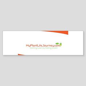 MyPlantLifeJourneyLogo Bumper Sticker