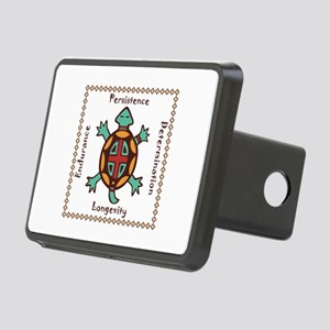 Turtle animal spirit Rectangular Hitch Cover