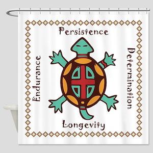 Turtle animal spirit Shower Curtain