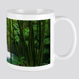 Waterfall in Azores Mug