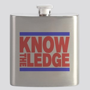 KNOW THE LEDGE Flask