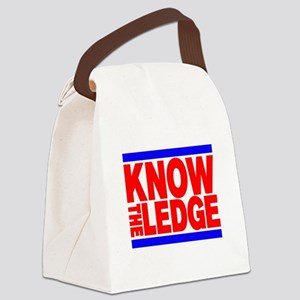 KNOW THE LEDGE Canvas Lunch Bag