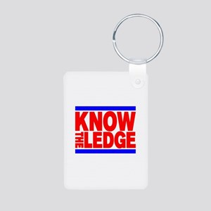 KNOW THE LEDGE Aluminum Photo Keychain