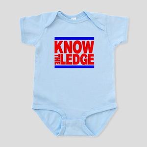KNOW THE LEDGE Infant Bodysuit