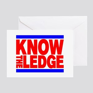 KNOW THE LEDGE Greeting Card