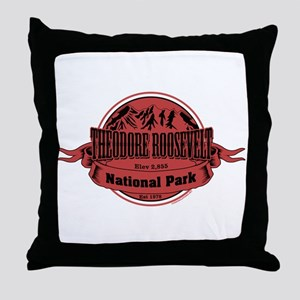 theodore roosevelt 1 Throw Pillow
