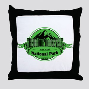 theodore roosevelt 4 Throw Pillow