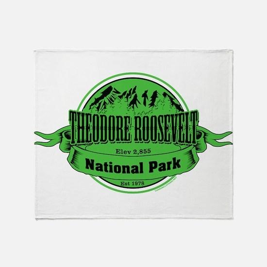 theodore roosevelt 2 Throw Blanket