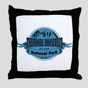theodore roosevelt 2 Throw Pillow