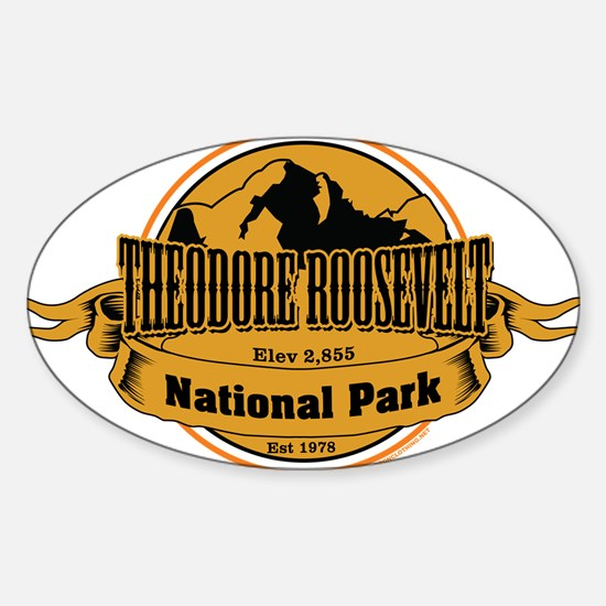 theodore roosevelt 3 Decal