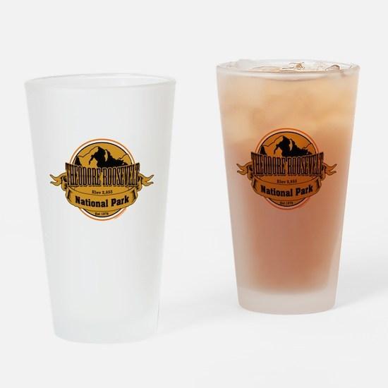 theodore roosevelt 3 Drinking Glass