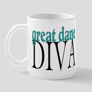Great Dane Diva Mug