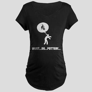 Pottery Maternity Dark T-Shirt