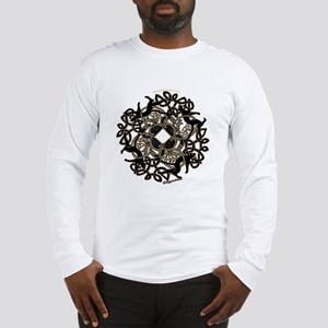 Samhain Long Sleeve T-Shirt - White / Gray