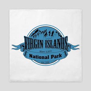 virgin islands 2 Queen Duvet