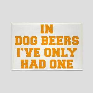 in-dog-beers-FRESH-ORANGE Rectangle Magnet