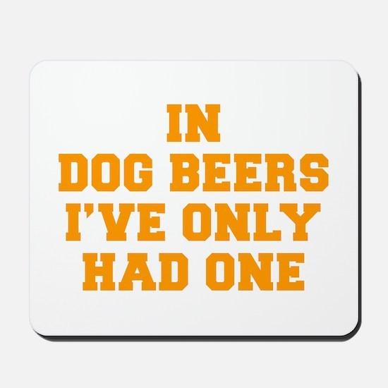 in-dog-beers-FRESH-ORANGE Mousepad