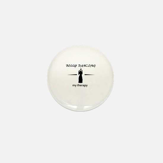 Belly Dancing my therapy designs Mini Button