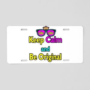 Crown Sunglasses Keep Calm And Be Original Aluminu