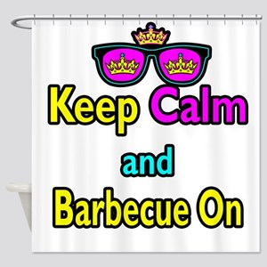 Crown Sunglasses Keep Calm And Barbecue On Shower