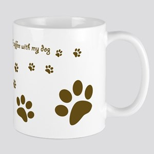 Dog Mug -Happiness is a cup of coffee...