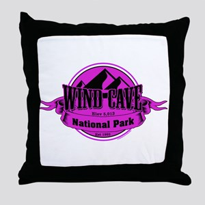 wind cave 5 Throw Pillow