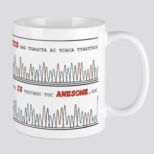 Genetics is Awesome Mugs
