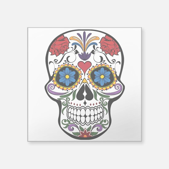 Sugar Skull II Sticker