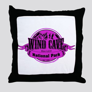 wind cave 1 Throw Pillow