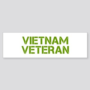 vietnam-veteran-clean-green Bumper Sticker