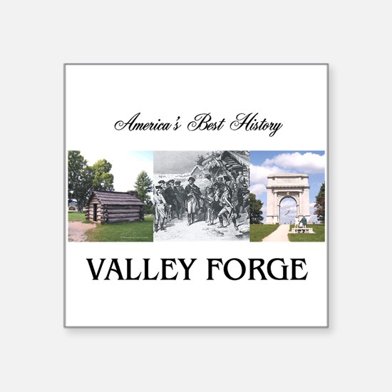 "ABH Valley Forge Square Sticker 3"" x 3"""