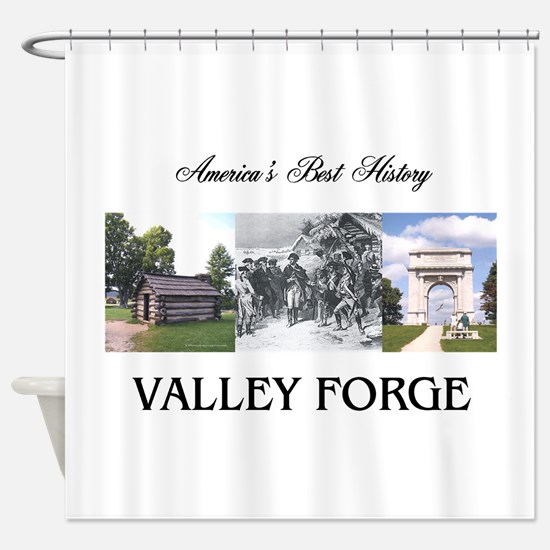 ABH Valley Forge Shower Curtain