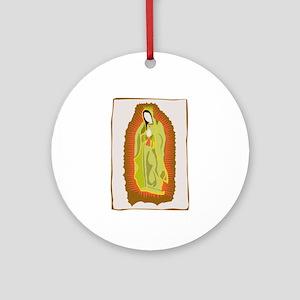 Madonna Aura Ornament (Round)