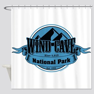 wind cave 5 Shower Curtain