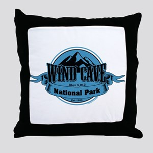 wind cave 4 Throw Pillow