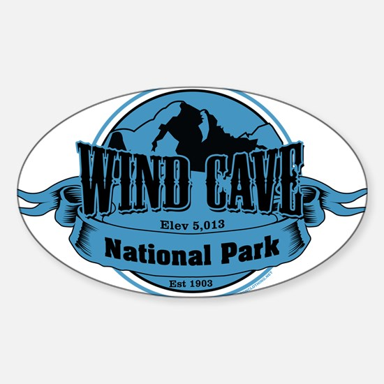 wind cave 3 Stickers