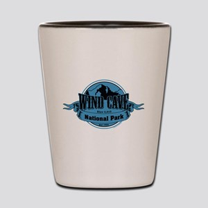 wind cave 3 Shot Glass