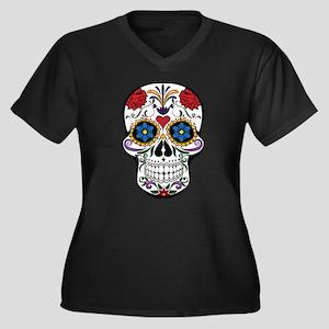 Sugar Skull II Plus Size T-Shirt