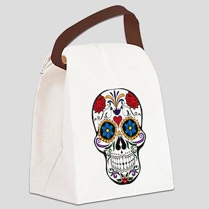 Sugar Skull II Canvas Lunch Bag