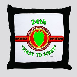 """24th Infantry Division """"First to Fight"""" Throw Pill"""