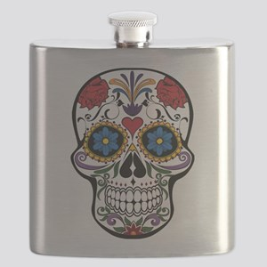 Sugar Skull II Flask