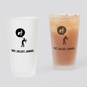Waste Collector Drinking Glass
