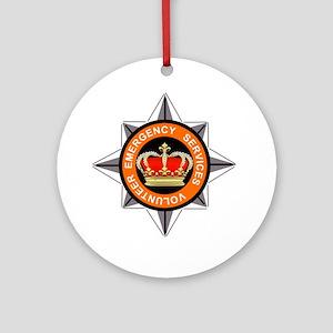 Emergency Service Volunteers Ornament (Round)