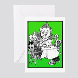 At the Dinner Table Greeting Cards (Pk of 10)