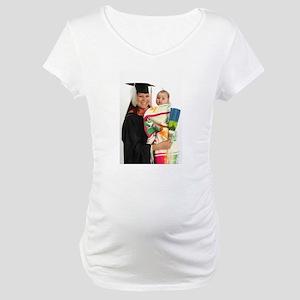 2013 Graduation Regalia Maternity T-Shirt