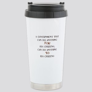 Government Stainless Steel Travel Mug