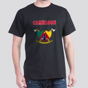 Cameroon Coat Of Arms Designs Dark T-Shirt